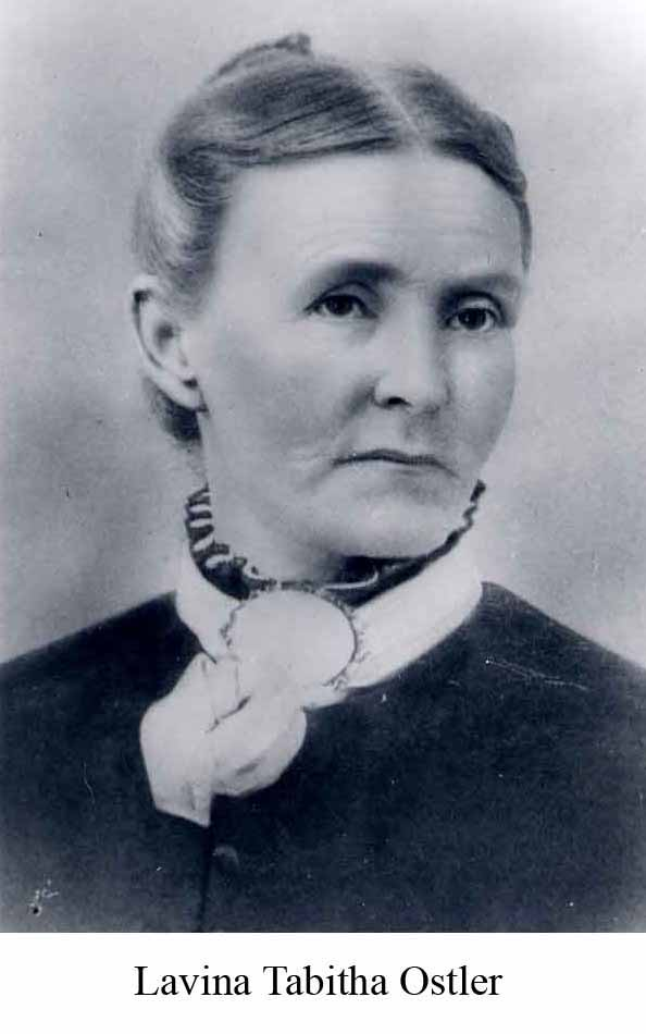Ancestor, family history, pioneers, Lavina womans name